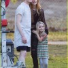 EXCLUSIVE: Bella Thorne and Cameron Monaghan enjoy a break on the set of new horror film 'Amityville' in Los Angeles
